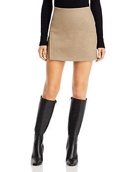 Vince - Asymmetrical Slit Mini Skirt