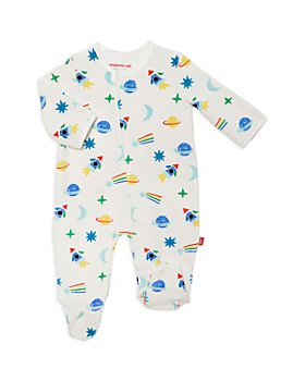 MAGNETIC ME - Boys' Velour Space Footie - Baby