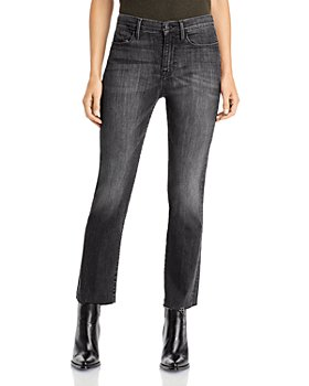 FRAME - Le High Straight Raw Edge Jeans in Bosworth