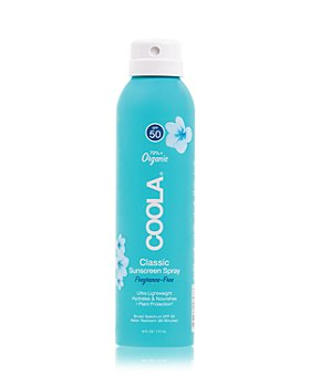 Coola - Classic Body Organic Sunscreen Spray SPF 50 - Fragrance Free 6 oz.