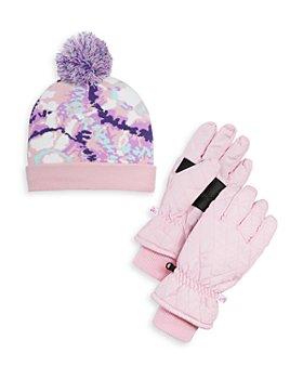 Capelli - Girls' Abstract Winter Hat & Gloves Set - Big Kid