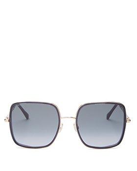Jimmy Choo - Women's Square Sunglasses, 57mm
