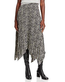 Lucy Paris - Izzy Pleated Midi Skirt