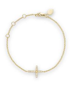Meira T 14K Yellow Gold Cross Bracelet - Bloomingdale's_0