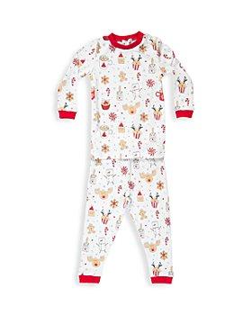 Noomie - Unisex Cotton Holiday Pajama Set - Little Kid