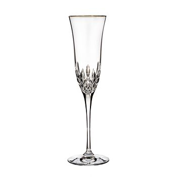 Waterford - Lismore Essence Gold Champagne Flute