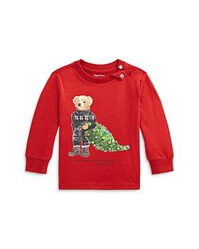 Ralph Lauren - Boys' Holiday Bear Cotton Tee - Baby