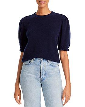 FRAME - Cashmere Short Sleeve Sweater