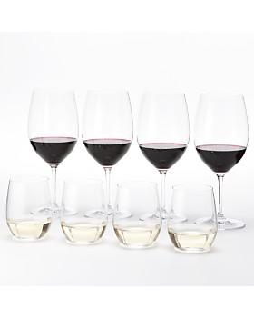 Riedel - Vinum Cabernet & O Chardonnay Wine Glasses, Set of 8