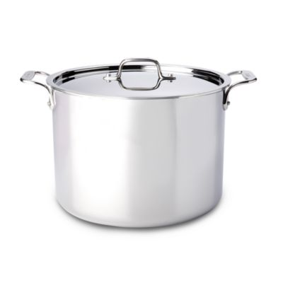 Stainless Steel 6-Quart Stock Pot with Lid