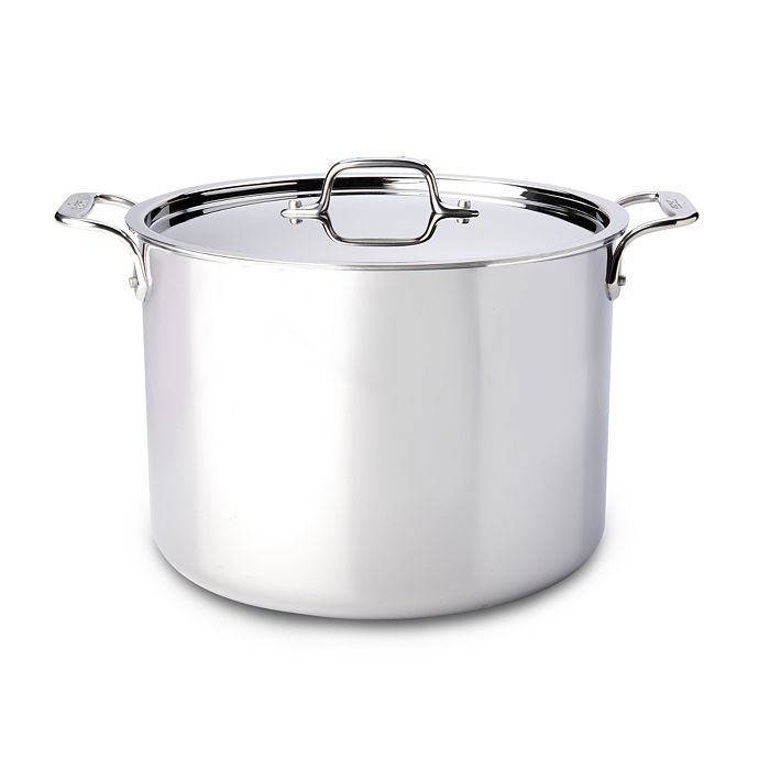 All-Clad - Stainless Steel Stock Pot with Lid