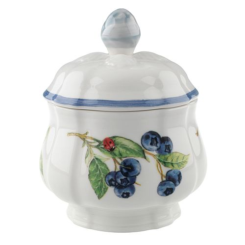 Villeroy & Boch - Cottage Inn Covered Sugar Bowl