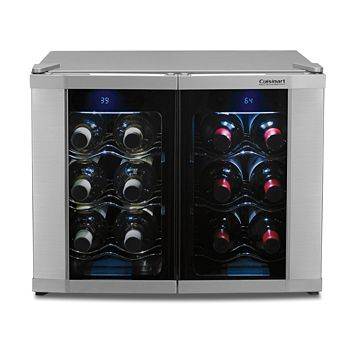 Cuisinart - 12-Bottle Dual Zone Wine Cellar