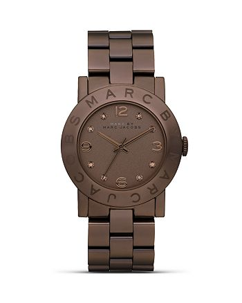 MARC JACOBS - Brown Amy Bold Watch, 36mm