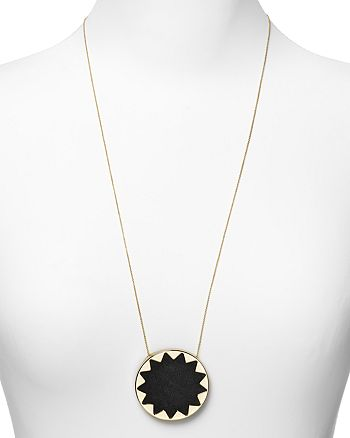 House of Harlow 1960 - Sunburst Pendant Necklace, 36""
