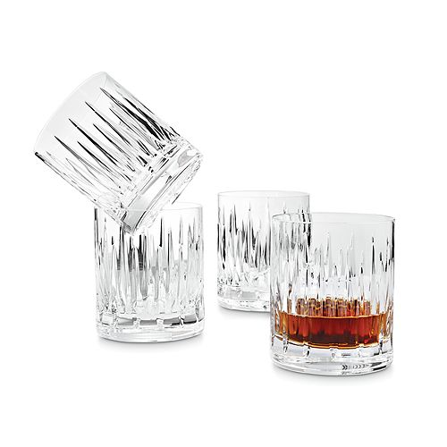 Reed & Barton - Soho Double Old Fashioned Glasses, Set of 4