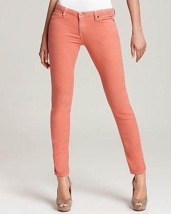 MICHAEL Michael Kors - Skinny Jeans in Peach