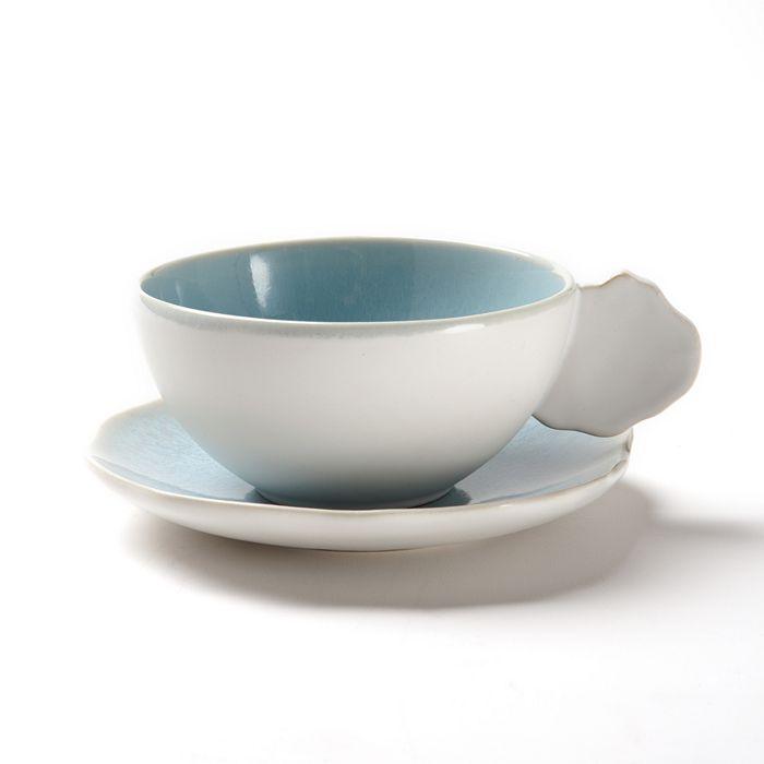Jars - Plume Tea Cup & Saucer