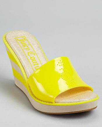 f48954ecc4a Juicy Couture Accessories Juicy Couture Wedges - Becka Jelly Slide ...