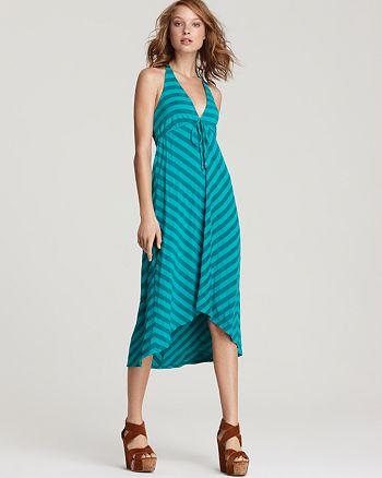 Ella Moss Dress Waldo Striped Halter Bloomingdale S