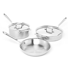 All Clad d5 Stainless Brushed 5-Piece Cookware Set - Bloomingdale's_0