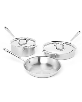 All-Clad - d5 Stainless Brushed 5-Piece Cookware Set