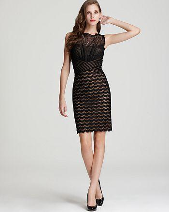 9c314b43e0c8c Tadashi Shoji Dress - Lace Sheath | Bloomingdale's