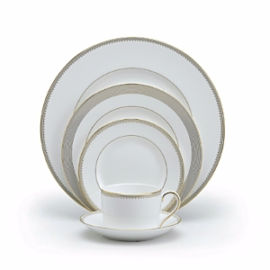 Vera Wang Wedgwood Golden Grosgrain Accent Plate