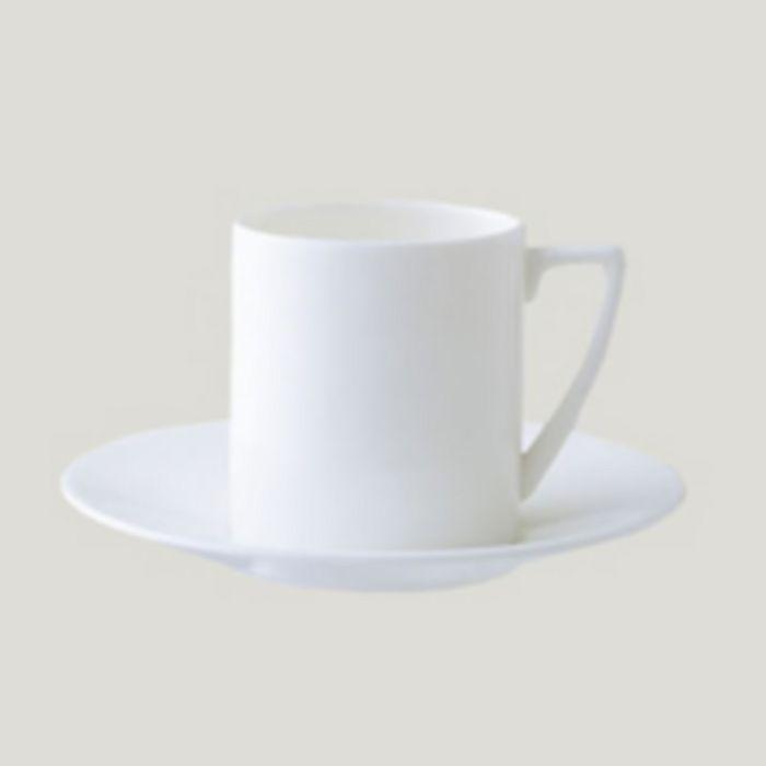 "Wedgwood - Jasper Conran at  ""White"" Espresso Saucer"