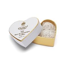 Charbonnel et Walker - Mini White Heart Dusted Truffles