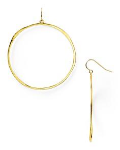 Gorjana - G Ring Circle Drop Earrings