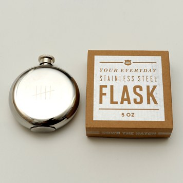 $Izola Tick Marks Flask, 5 oz. - Bloomingdale's