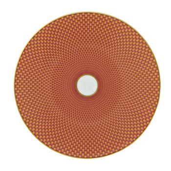 Raynaud - Tresor Orange Dessert Plate