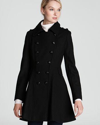 Via Spiga - Novara Double Breasted Wool Blend Coat