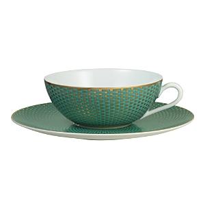 Raynaud Tresor Turquoise Tea Saucer