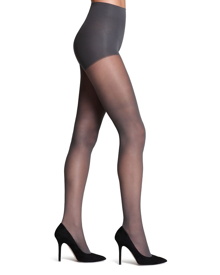 62d4b80663164 DKNY - Comfort Luxe Control Top Tights