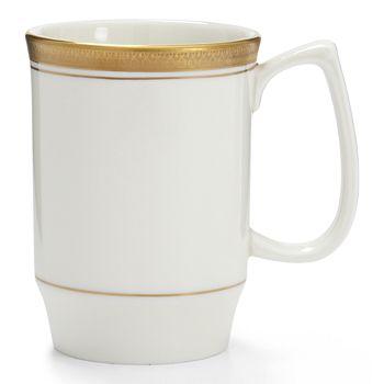 Pickard China - Palace White Classic Mug