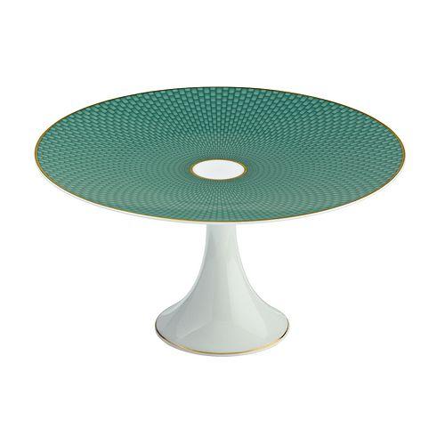 Raynaud - Tresor Medium Turquoise Cake Stand