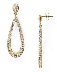 Nadri - Nadri Open Long Teardrop Earrings