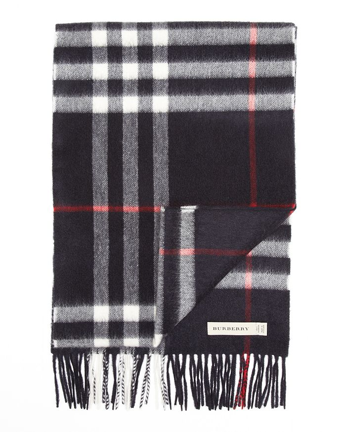 089aacbe Giant Icon Check Cashmere Scarf