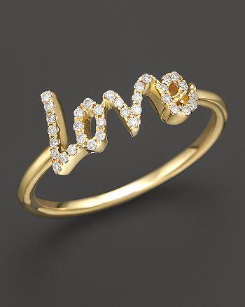 Meira T - Diamond Love Ring, .12 ct. t.w.