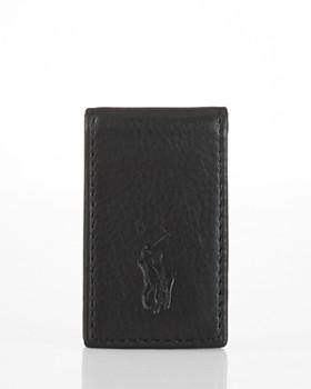 Ralph Lauren - Pebbled Leather Money Clip