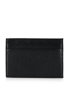 Polo Ralph Lauren Pebbled Card Case with Money Clip - Bloomingdale's_0