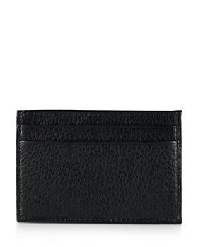 Polo Ralph Lauren - Pebbled Card Case with Money Clip