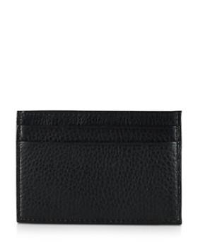 Ralph Lauren - Pebbled Card Case with Money Clip