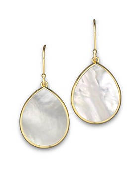 af8470bc5 IPPOLITA - 18K Gold Polished Rock Candy Teardrop Earrings in Mother-Of-Pearl