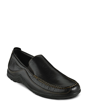 Cole Haan Men\\\'s Tucker Venetian shoe. Waxy, pull up leather upper with sport inspired design and flexible construction. Fully padded sockliner. Cole Haan rubber outsole for durabilty and comfort.