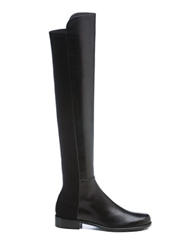 Stuart Weitzman - Women's Leather 5050 Over-the-Knee Boots