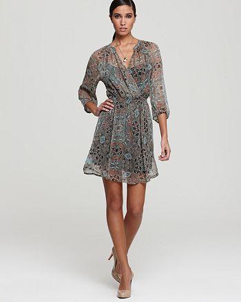 Ella Moss Dress Mystic Silk Sheer Bloomingdale S
