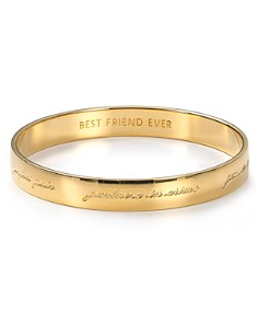 kate spade new york Bridesmaid Engraved Idiom Bangle - Bloomingdale's_0